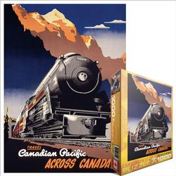Travel CP Across Canada, 1930 (Canadian Pacific) Trains Jigsaw Puzzle