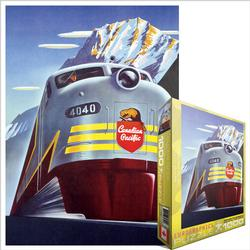 Diesel 4040 (Canadian Pacific) Trains Jigsaw Puzzle