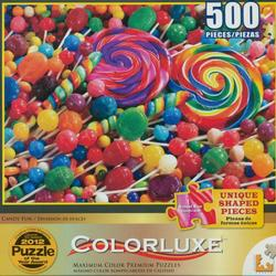 Candy Fun (Colorluxe) Food and Drink Jigsaw Puzzle
