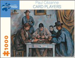 Card Players Contemporary & Modern Art Jigsaw Puzzle