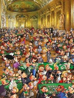 Casino Cartoons Jigsaw Puzzle