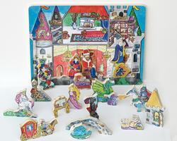 Flipzles Castle Puzzle Princess Wooden Jigsaw Puzzle