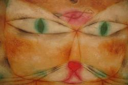 Cat and Bird by Paul Klee People