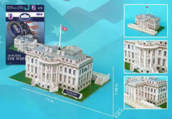 White House United States 3D Puzzle