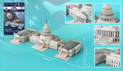 The US Capitol Building United States 3D Puzzle