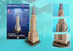 Chrysler New York 3D Puzzle