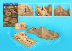 Egyptian Landmarks Travel Jigsaw Puzzle