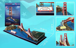 Golden Gate Bridge San Francisco 3D Puzzle