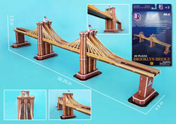 Brooklyn Bridge New York 3D Puzzle