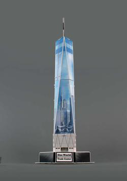 One World Trade Center New York 3D Puzzle