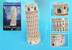 Leaning Tower of Pisa Leaning Tower of Pisa 3D Puzzle