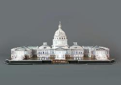 The Capitol Hill with LED Lighting United States 3D Puzzle