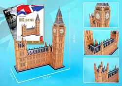 Big Ben w/ booklet London Jigsaw Puzzle