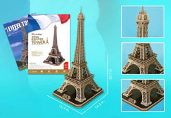 Eiffel Tower w/ booklet Landmarks / Monuments Jigsaw Puzzle