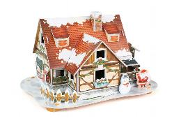 Christmas House Christmas 3D Puzzle
