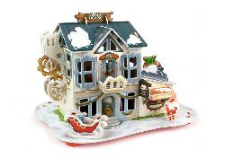 Christmas Candy Gift Shop Christmas 3D Puzzle