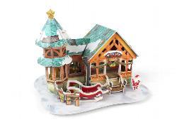 Christmas Dessert Shop Christmas 3D Puzzle