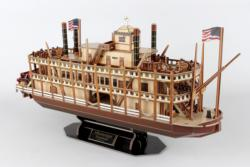 Mississippi Steamboat Boats 3D Puzzle