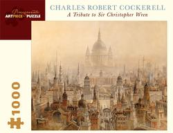A Tribute to Sir Christopher Wren Skyline / Cityscape Jigsaw Puzzle