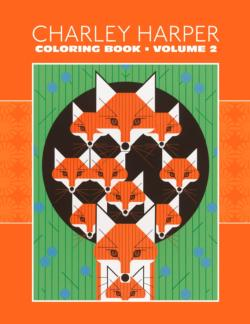 Charley Harper: Volume 2 Coloring Book Birds Coloring Book