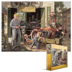 The Gift (Childhood Memories) Nostalgic / Retro Jigsaw Puzzle