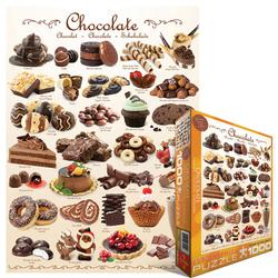 Chocolate Pattern / Assortment Jigsaw Puzzle