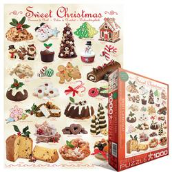 Christmas Baking Pattern / Assortment Jigsaw Puzzle