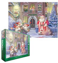 Christmas Carols Santa Jigsaw Puzzle