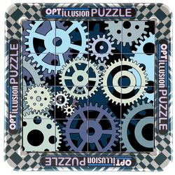 Gears Everyday Objects Lenticular Puzzle