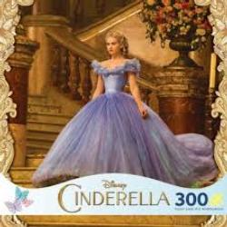 Cinderella on Staircase (Disney Cinderella) Princess Jigsaw Puzzle