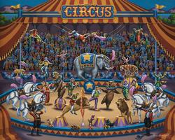 Circus Stars Carnival Children's Puzzles