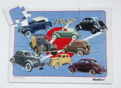 Classic Car (24pc) Collage Large Piece