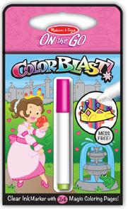 Colorblast Activity Book - Princess Princess Children's Coloring Books - Pads - or Puzzles