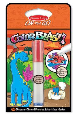 Dinosaur Colorblast Activity Book