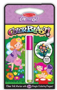 Colorblast Activity Book - Fairies Children's Coloring Books - Pads - or Puzzles