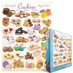 Cookies Pattern / Assortment Jigsaw Puzzle