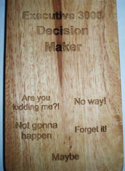 Decision Maker - Executive Novelty