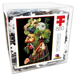 Deluxe Cube Puzzle - Klaus Enrique 2 Food and Drink Jigsaw Puzzle