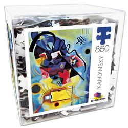 Deluxe Cube Puzzle - Kandinsky Abstract Jigsaw Puzzle