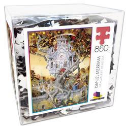 Daniel Merriam 3 (Deluxe Cube Puzzle) Castles Jigsaw Puzzle