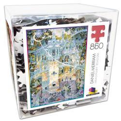 Daniel Merriam 2 (Deluxe Cube Puzzle) Castles Jigsaw Puzzle