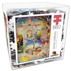 Daniel Merriam 1 (Deluxe Cube Puzzle) Surreal Jigsaw Puzzle