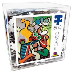 Deluxe Cube Puzzle - Picasso Abstract Jigsaw Puzzle