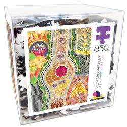 Deluxe Cube Puzzle - Richard Welker 1 Fine Art Jigsaw Puzzle