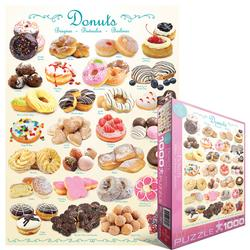 Donuts - Scratch and Dent Pattern / Assortment Jigsaw Puzzle