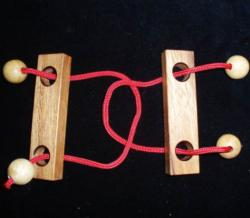 Double Trouble String Puzzle - Large Brain Teaser