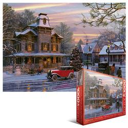 Driving Home for Christmas Winter Jigsaw Puzzle