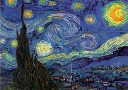 The Starry Night - Scratch and Dent Van Gogh Starry Night Jigsaw Puzzle
