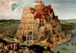 The Tower of Babel Landmarks Jigsaw Puzzle