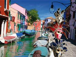 Burano Lakes / Rivers / Streams Jigsaw Puzzle